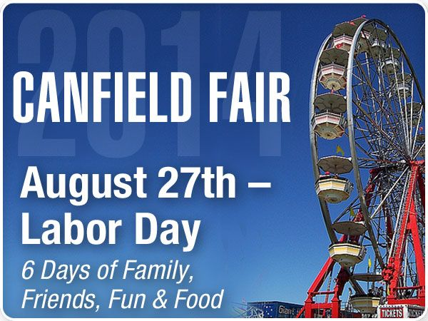 How Much Is It To Get Into The Canfield Fair