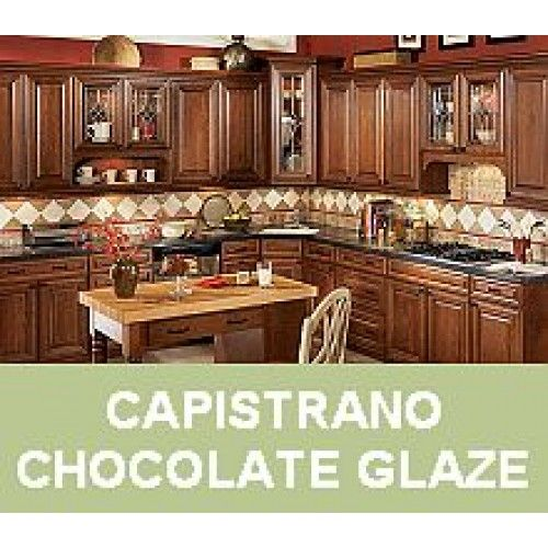 Maple Chocolate Glazed Kitchen Love And Want To Re Glaze My Cabinets This