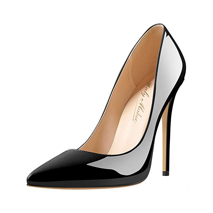 Details about  /Womens Ankle Boots Pointed Toe Pump Ladies Stiletto High Heels Platform Shoes