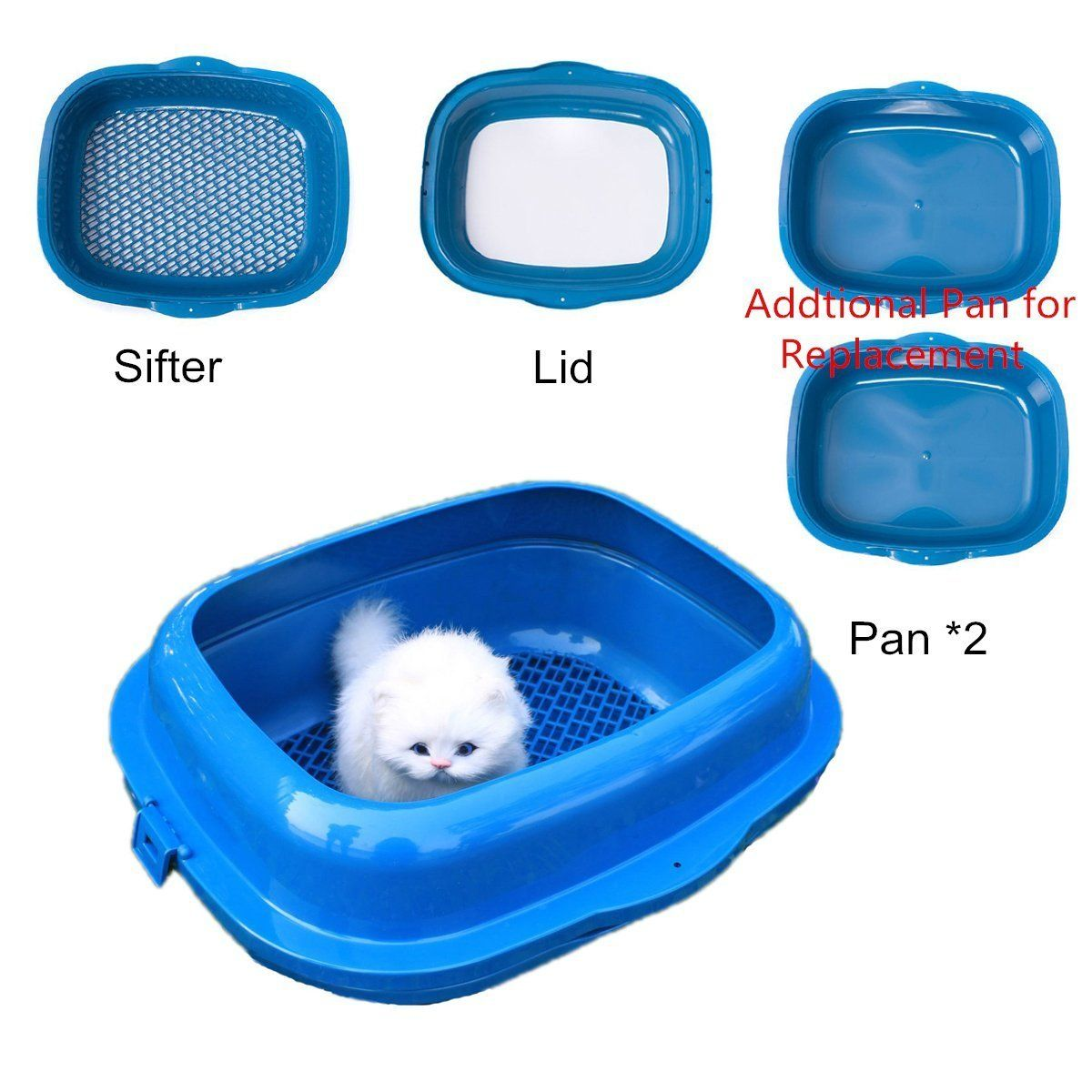 Favorite High Sided 19 Double Trayed Pine Sifter Cat Litter Box Visit The Photo Link Even More Information This I Pine Cat Litter Cat Litter Box Cat Litter