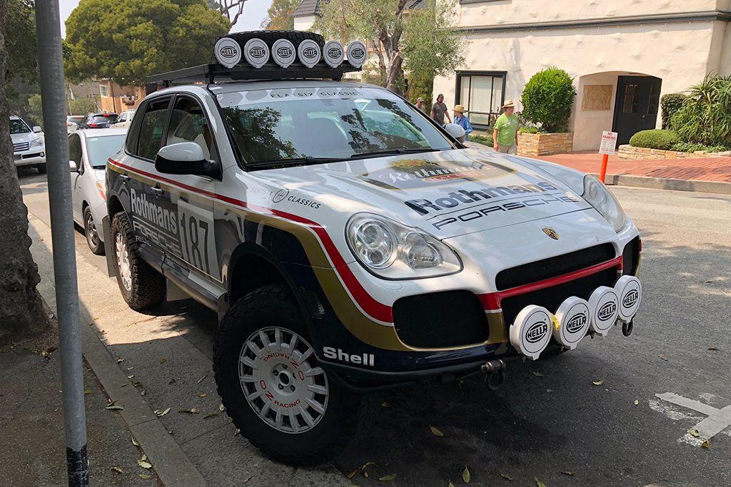 This Porsche Cayenne Was The Coolest Car At Monterey Car Week Autotrader Porsche Cayenne Porsche Autotrader