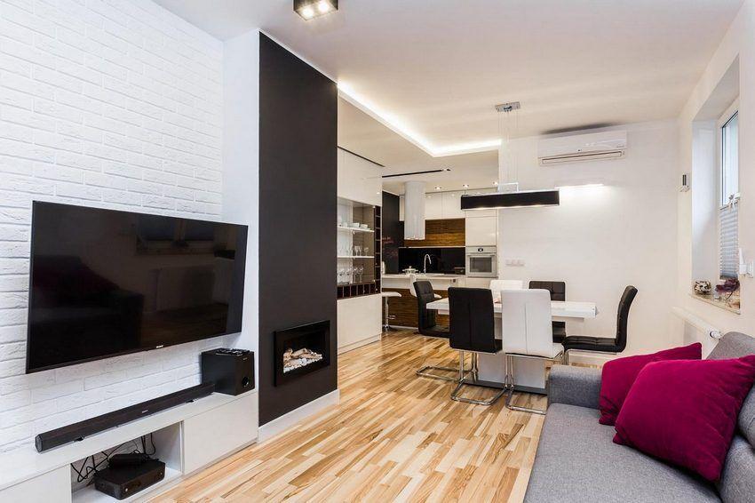 Két másfél szobás lakás frissen berendezve - színek és természetes ...