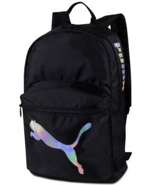 d85837b8b8 Puma Essential Backpack - Black Backpack Online, Women Brands, Essentials,  Backpacks, Pocket