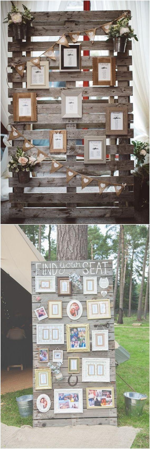 50 Fab Rustic Wood Pallet Wedding Ideas   Pallet wedding ...