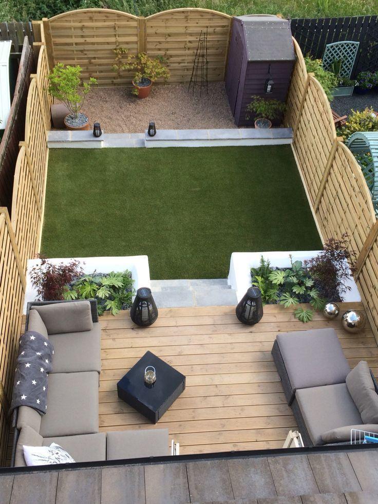 Terrassen, Gartenmöbel und Pflanzgefäße – Gartendekoration