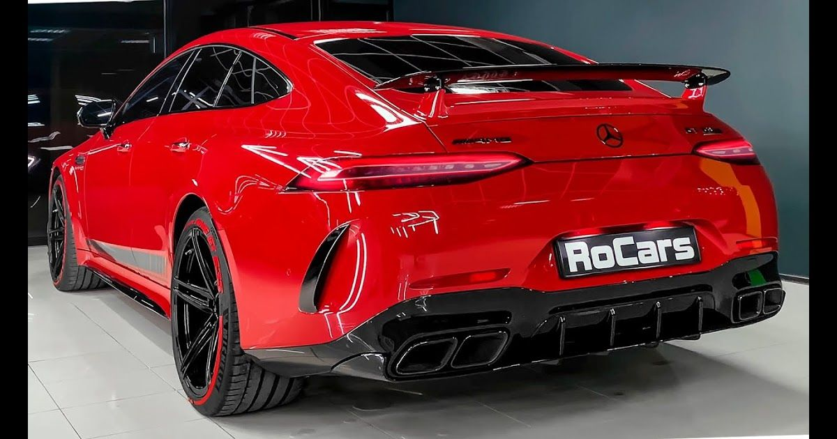 In This Video You Will See 2020 Mercedes Amg Gt 4 Door Coupe New