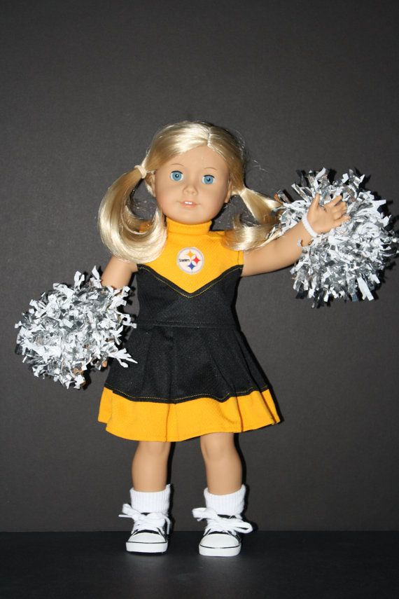 AMERICAN GIRL 18 Doll Steelers Black and Gold by weeline on Etsy, $25.00