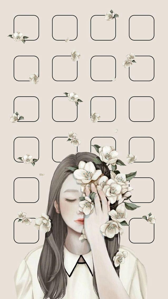 Lock Screen Home Screen Pinterest Kaoriihayashii Gambar Lukisan Wajah Fotografi