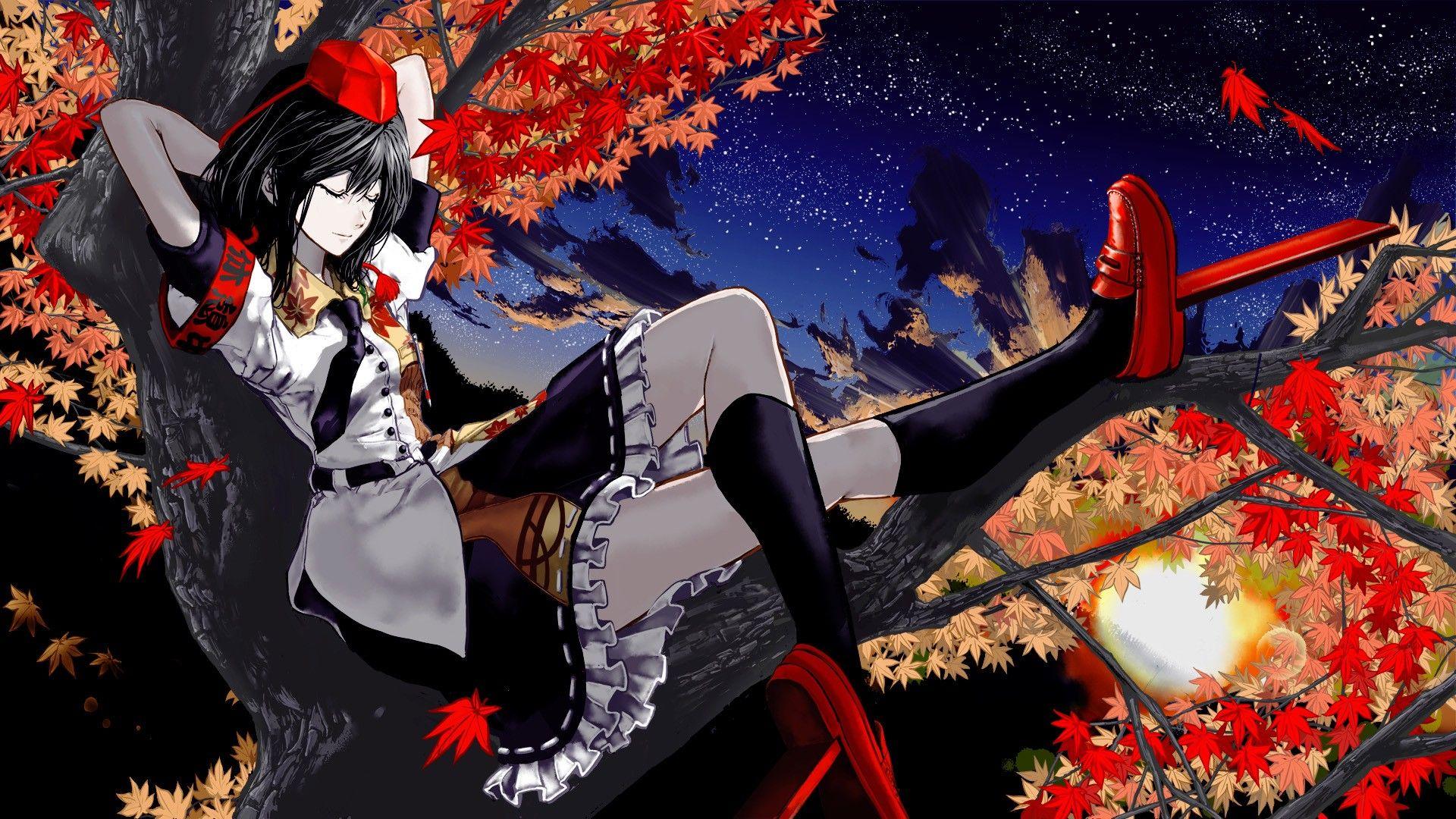 Touhou Wallpapers에 있는 海星くん님의 핀 애니메이션 소녀 애니메이션 소녀