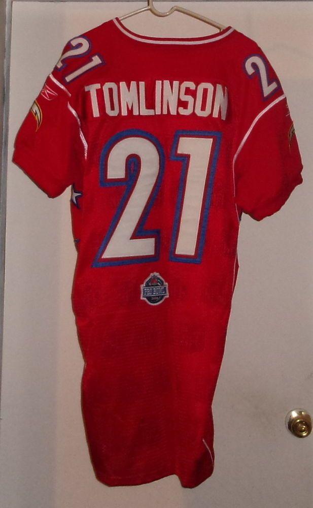 online store b3cb2 1d3f4 LaDainian Tomlinson (Game Worn) Pro Bowl Jersey | nfl ...