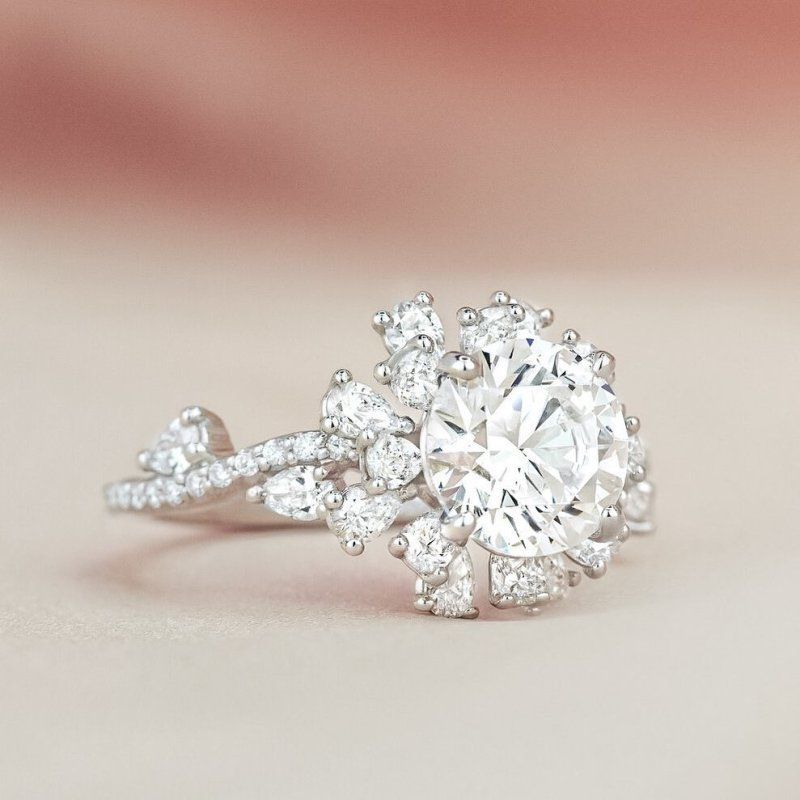 Details about  /0.15ct Round Cut Not Enhanced Diamond Ladies Drop Infinity Earrings 18K Gold