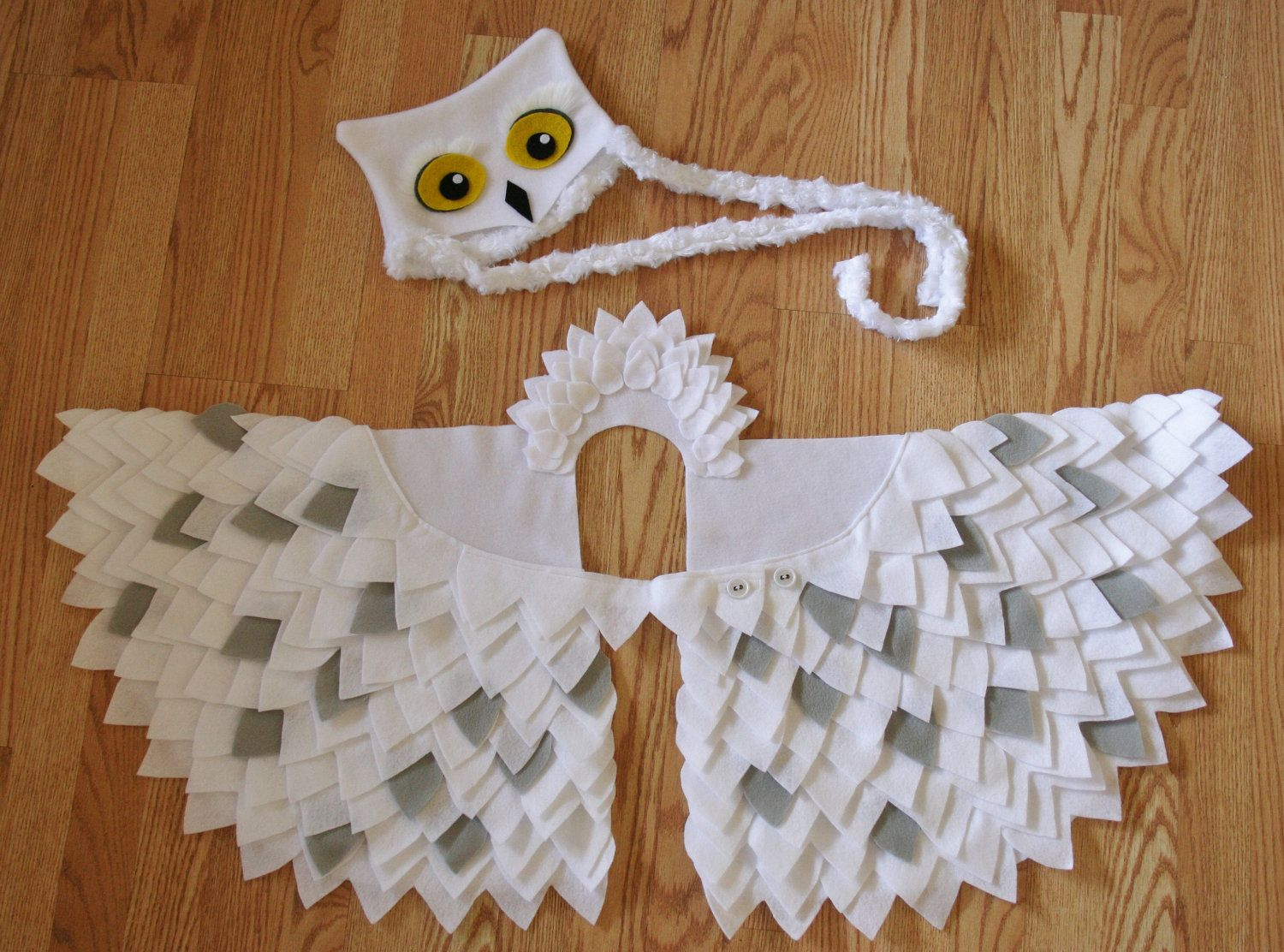 Owl Costume- Snowy Owl- Imagination Play- Dress Up- Hedwig- Harry Potter- Halloween. $74.00 via Etsy. & Owl Costume- Snowy Owl- Imagination Play- Dress Up- Hedwig- Harry ...