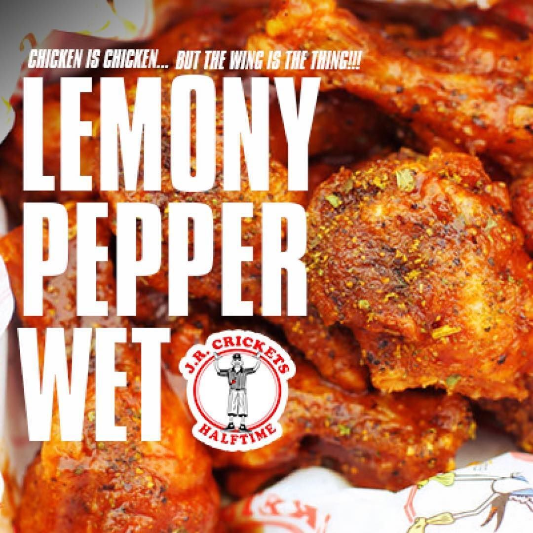 Taste our LemonyPepperWet Wings and youll why they are