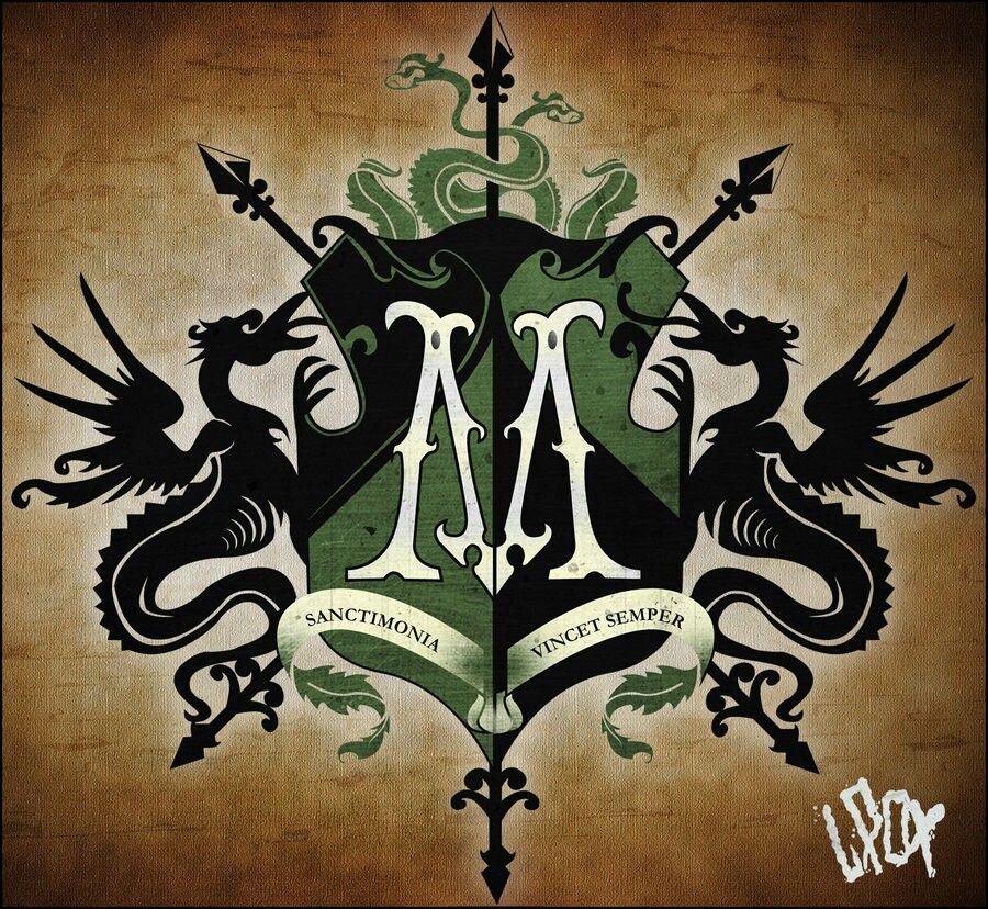 Risultati immagini per malfoy house coat of arms