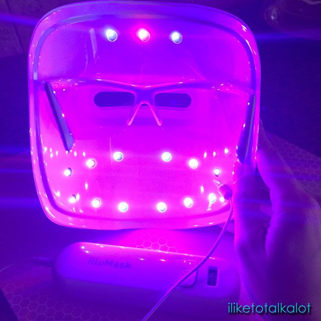 @illumask Anti Acne Light Therapy Mask Review By @iliketotalkblog
