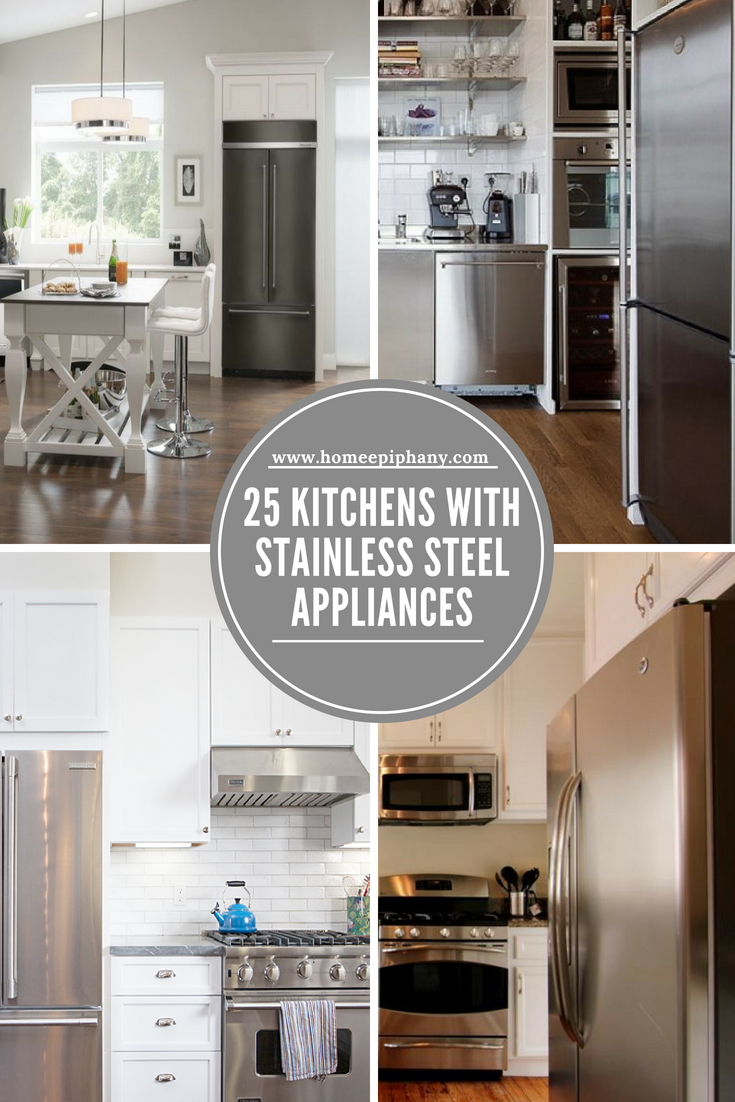 25 Kitchens With Stainless Steel Appliances With Images Luxury