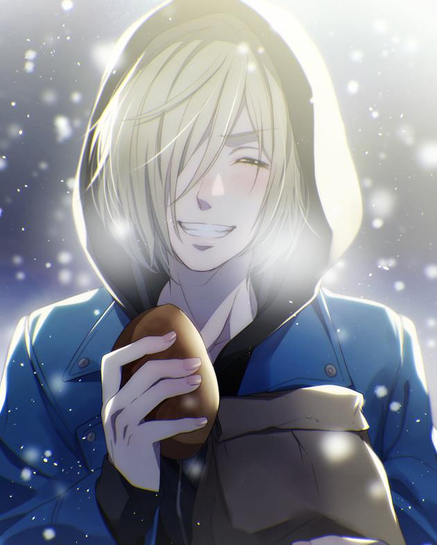My heart!! ❤️❤️ Yuri!! On Ice...Yuri Plisetsky ❤️