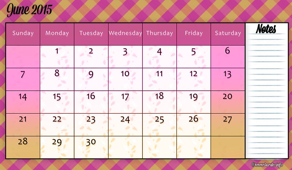Free Printable June  Calendar  Free Blank Printable Calendar
