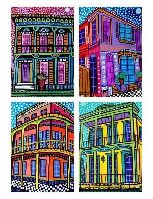 New Orleans Art Modern Abstract City   GIFT by HeatherGallerArt, $36.00 by proteamundi