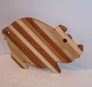 Frog Wooden Cutting Board, Cheese Board or Serving Tray – Hand ...
