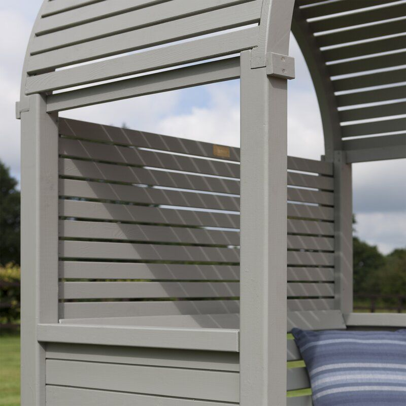 Berry Arbors: Wooden Arbor, Arbour Seat, Timber Roof