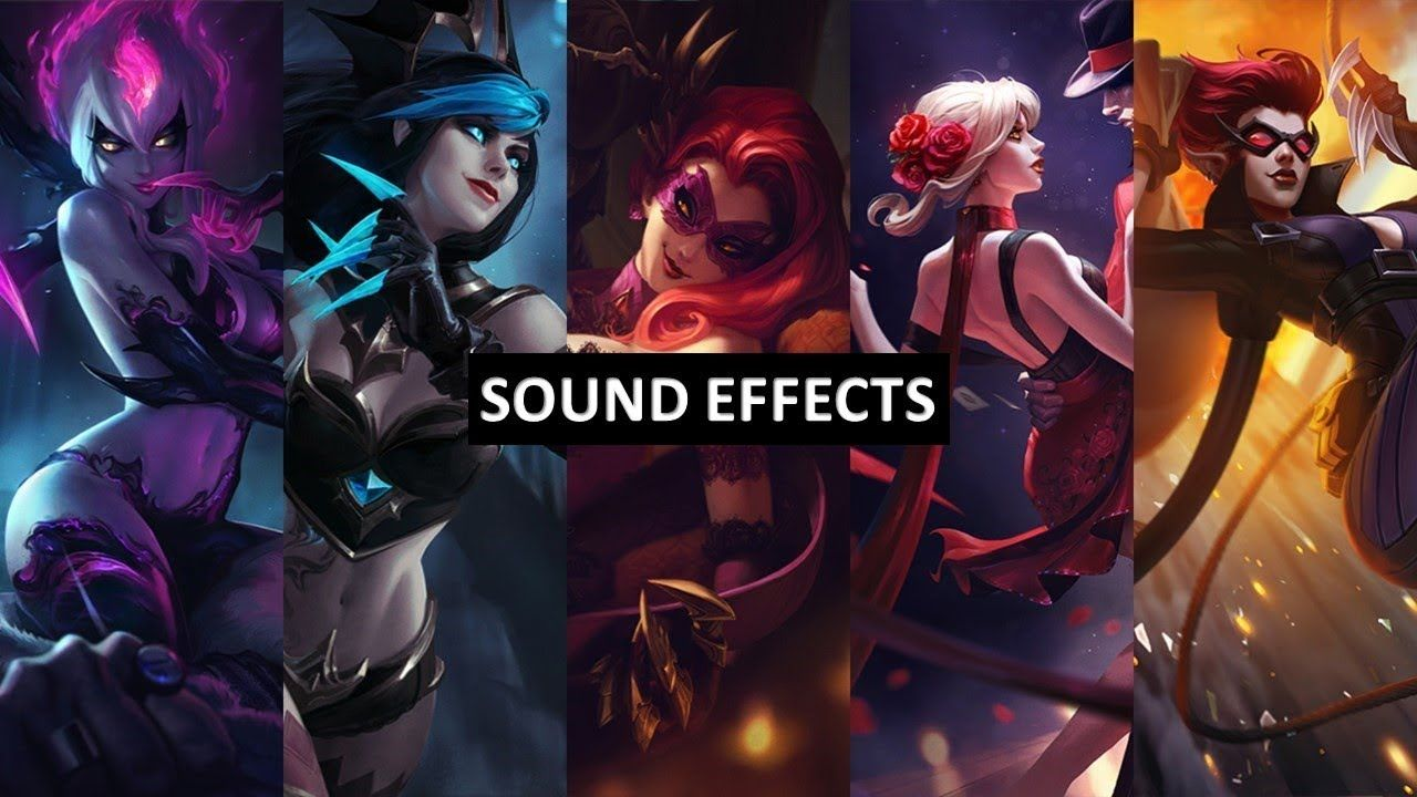 Sound Effects - Evelynn , Agony's Embrace | League of
