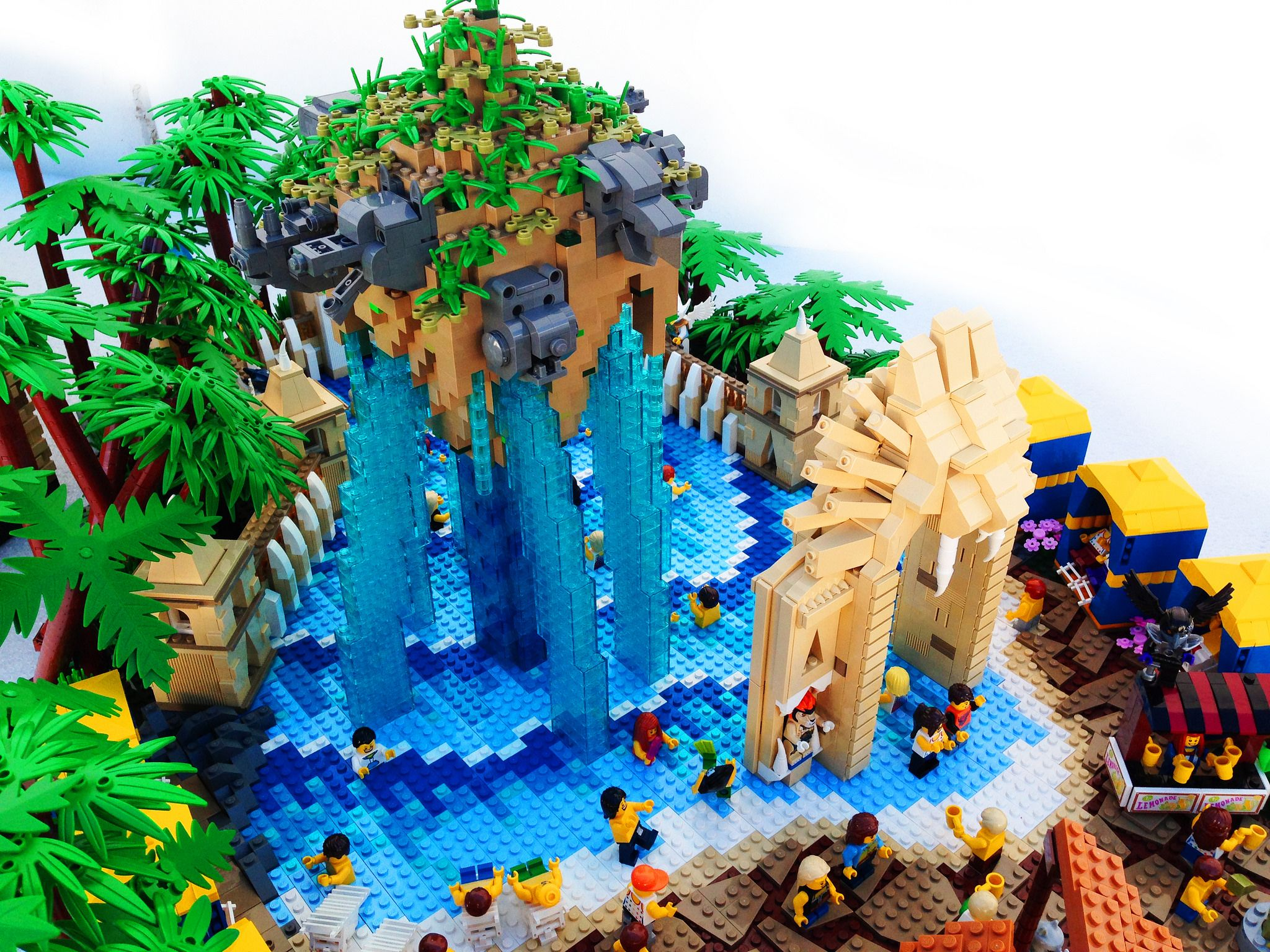 LEGO Legends of Chima Water Park Lion Pool | Brick ...