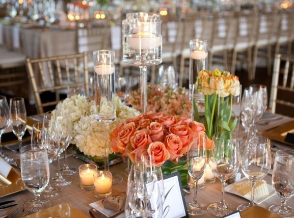 table arrangements for wedding receptions - Fieldstation.co