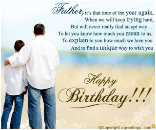 Pin By Beauty Fashion Style On Birthday Wishes For Father