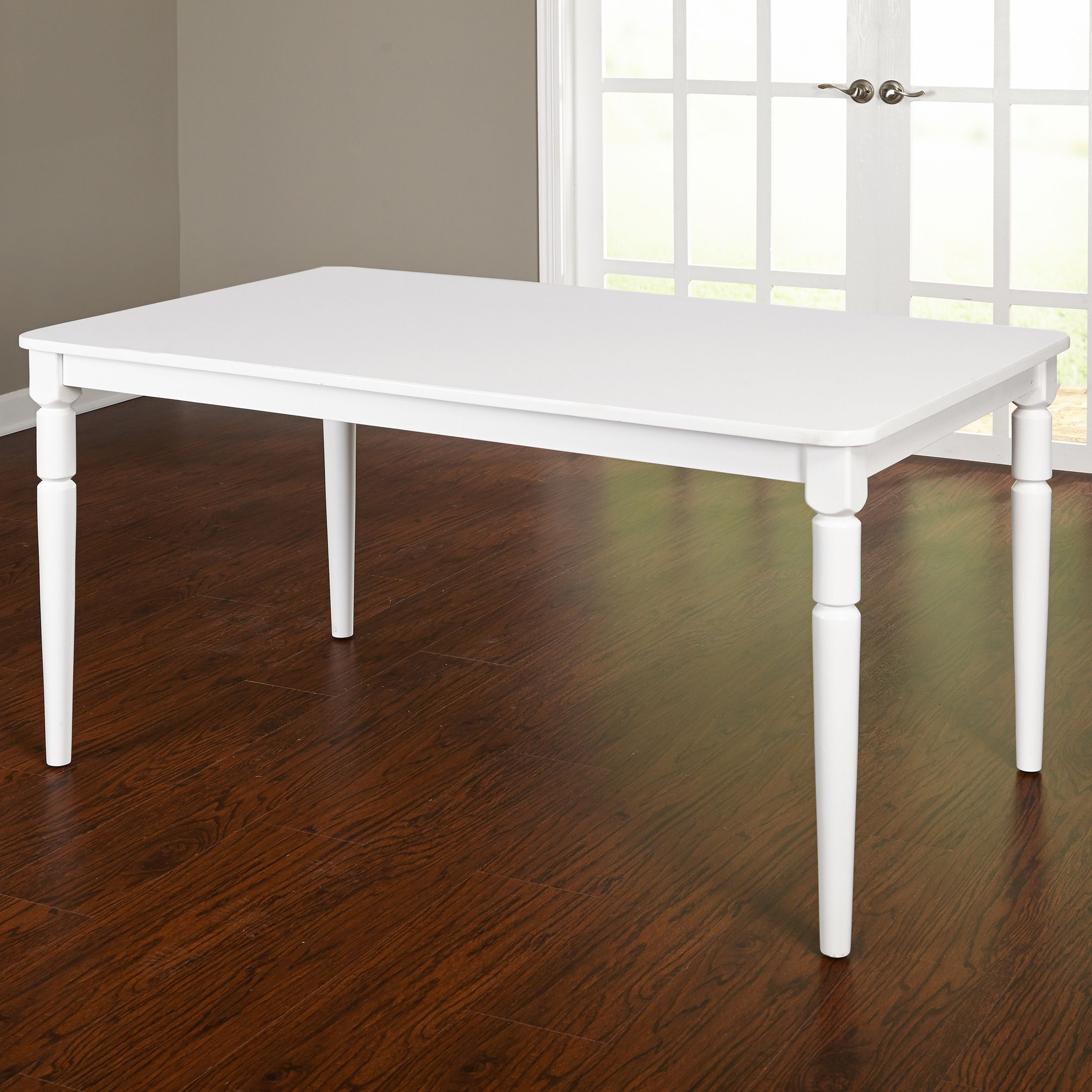 Simple Living Albury Dining Table (White Finish