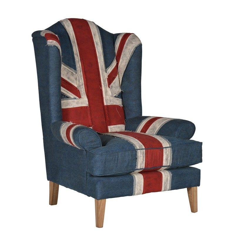 e4695dcd7d2 Bandaged Union Jack Armchair - Timothy Oulton