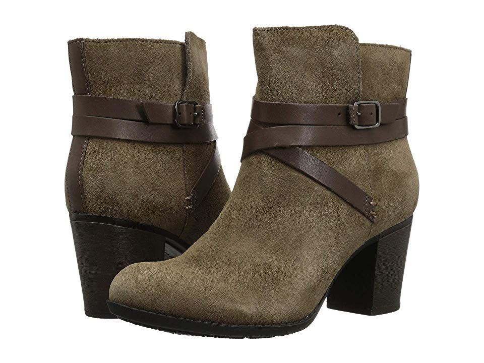 Clarks Enfield Coco (Olive Suede