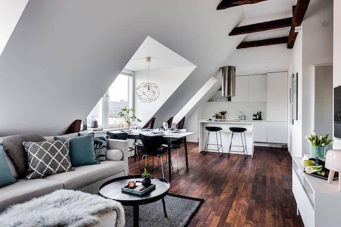 1001 Ideen für die moderne Dachgeschosswohnung in 2020   1 ...
