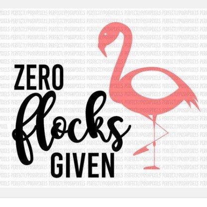 Zero flocks Given! | Etsy | Svg files for cricut, Cricut