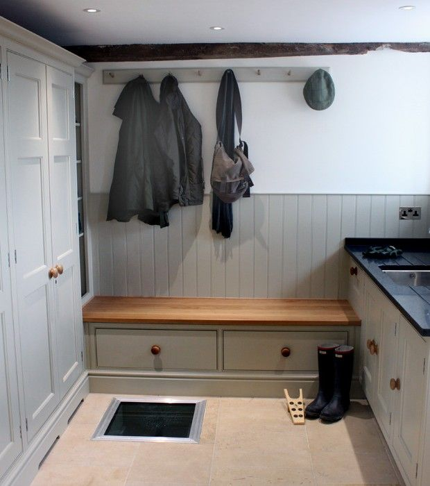 Kitchen Utility Room Layout: An Amazing Boot Room Attached To The Kitchen/garden