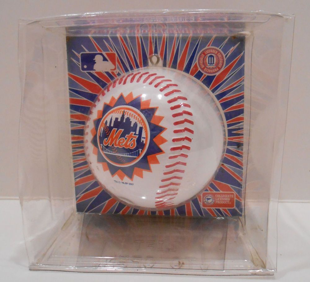 New York Mets Baseball Official Sports Collectors Series Ornament ...