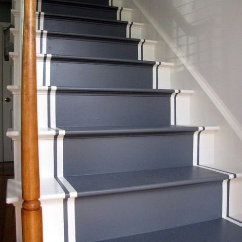 Best Painted Stairs Design Ideas Pictures Remodel And Decor 400 x 300
