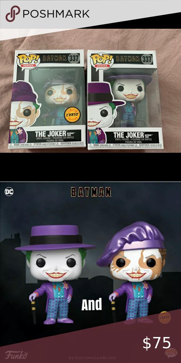 BRAND NEW Funko Pop DC Heroes Batman 1989 The Joker 337