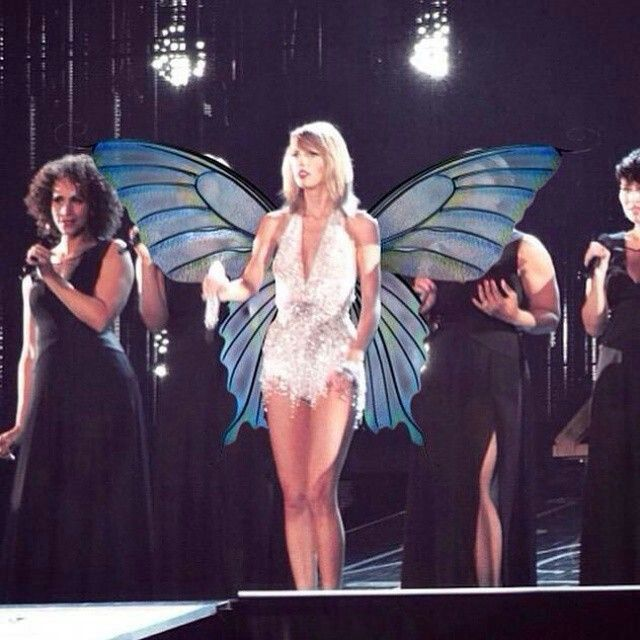 Taylor Swift 1989 World Tour! So she's now a fairy...? Sweet :D