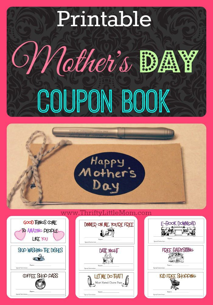 Free Printable Mother's Day Coupons | Free printable coupons ...