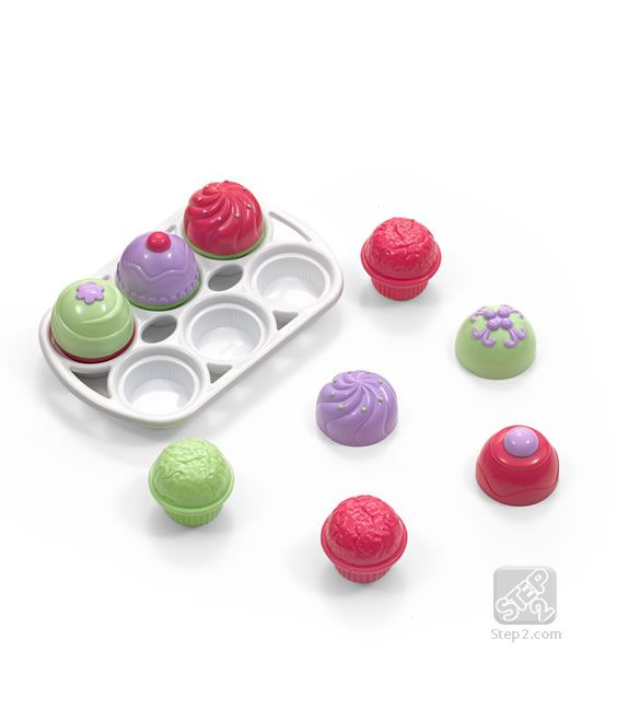 The Step2 Little Bakeru0027s Cupcake Assortment Is A Must Have For Pretend Play  Baking And Will