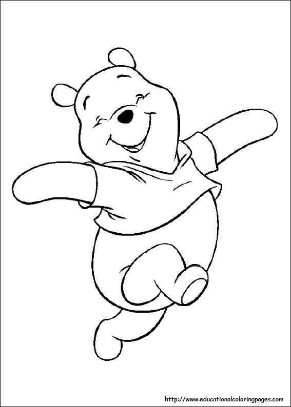 Winnie The Pooh Coloring Pages Bear Coloring Pages Disney