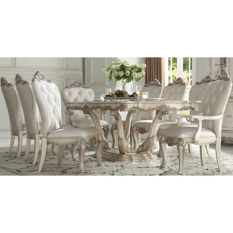 Castonguay Extendable Dining Table In 2020 French Country Dining Room Dining Table Dining Room Table Decor