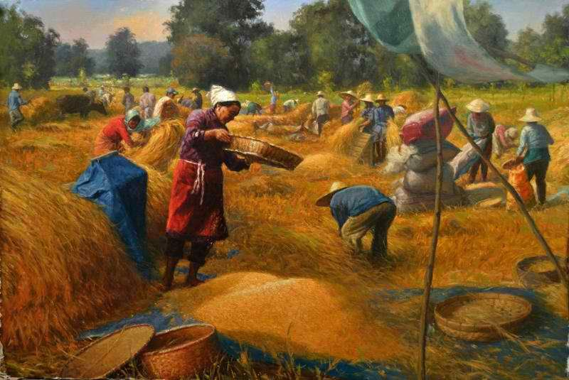 ABAYAN Ronilo, Golden Harvest | Filipino Artists ...