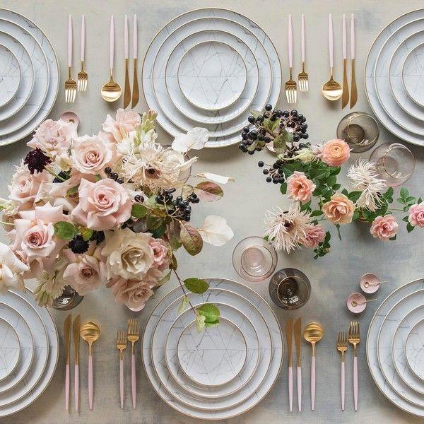 Wedding Reception Table Setup Ideas: 40 Wedding Reception Table Setting Decoration Ideas