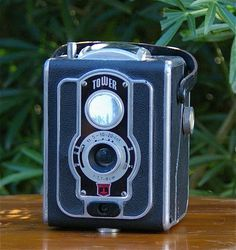 Vintage Tower Twin lens reflex Style 120 Film Camera 1950's - The Vintage Village