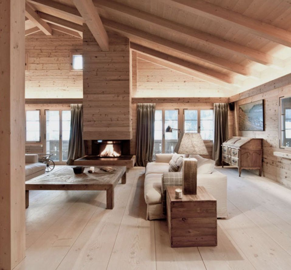 Cocooning chalet /Martine Haddouche/ | // Chalet Cocooning ...