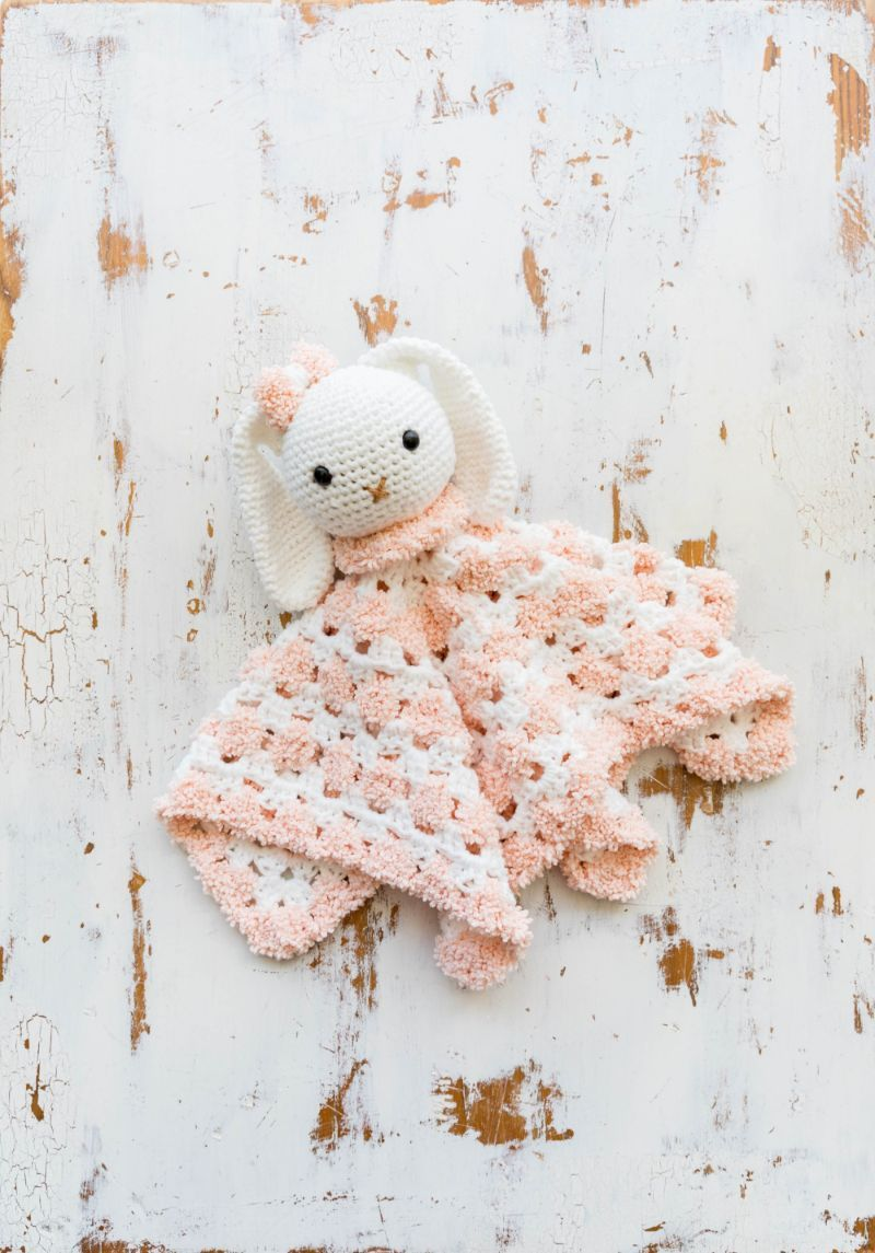 Cute Crochet Security Blankets #crochetsecurityblanket Cute Crochet Security Blankets - Free Crochet Patterns #securityblankets