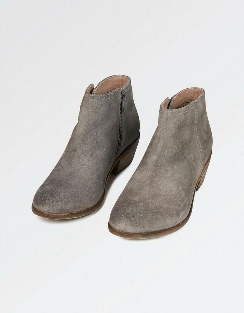FatFace Lytham Suede Ankle Boots Size 6