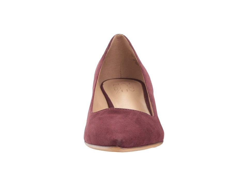 64a0fb1bdc2 Naturalizer Pippa Women's 1-2 inch heel Shoes Bordo Suede | Products ...